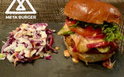 Denver's Newest All Vegan Restaurant! Meta Burger!