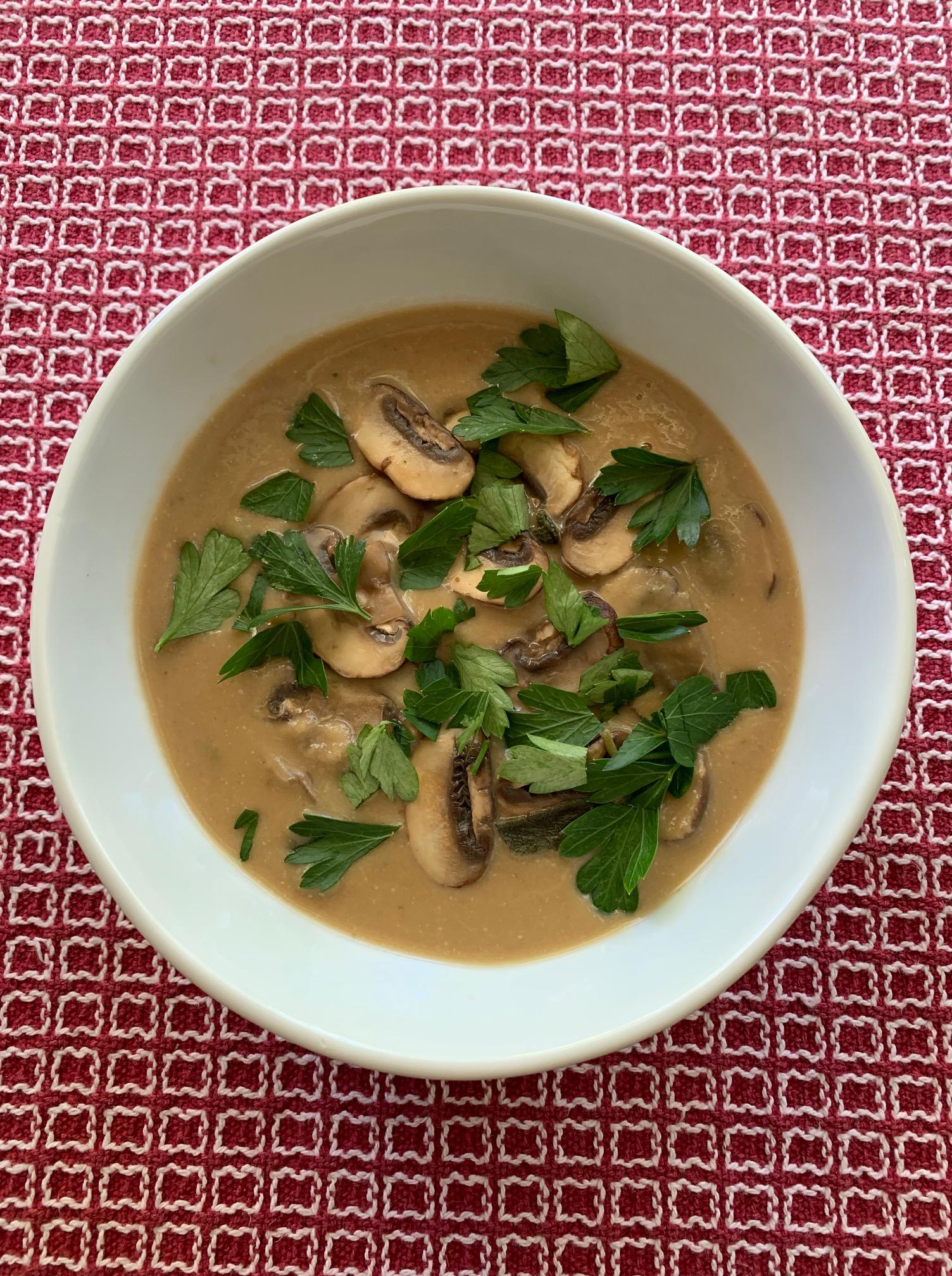 Mushroom Soup 2